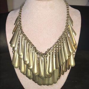 Chico's Layered Bib Necklace